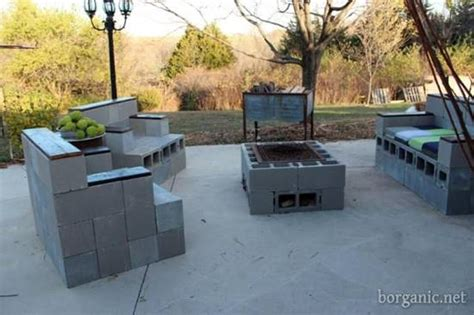 Cinder Block Patio by 20 Awesome Diy Cinder Block Projects For Your Homestead
