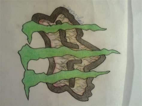monster energy tattoo designs energy logo with fox racing logo ideas