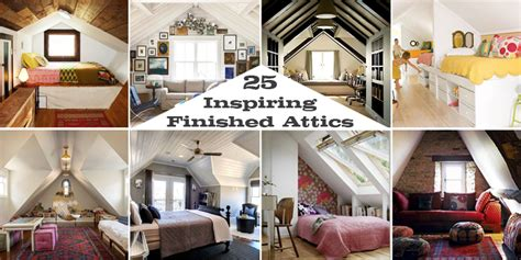 remodelaholic inspiring finished attics