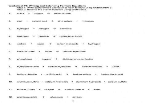 worksheet 4 single replacement reactions answers worksheet 4 single replacement reactions