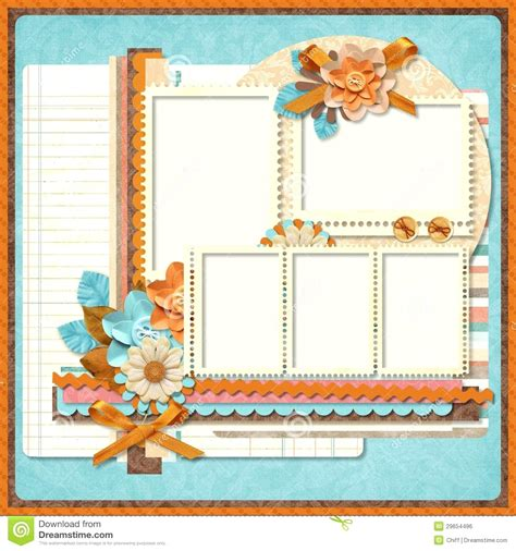 free scrapbooking templates to template printable scrapbook template designs stickers