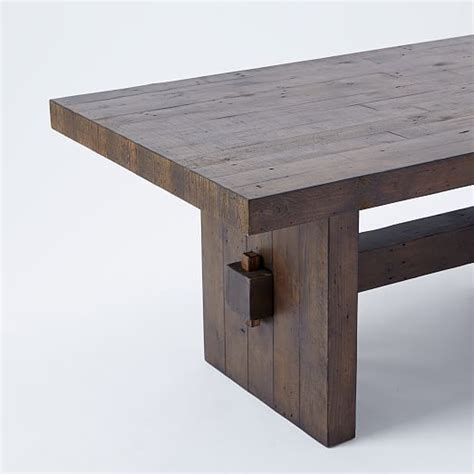 emmerson reclaimed wood dining table 57 best dining table images on dinner