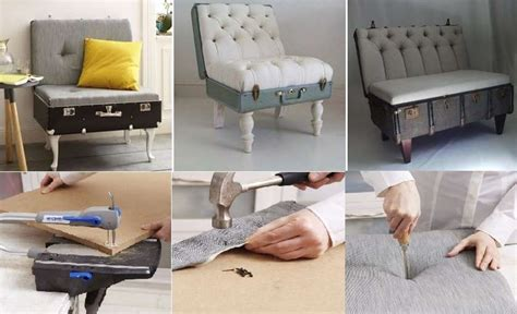 Diy Comfortable Lounge Chair From Old Suitcase