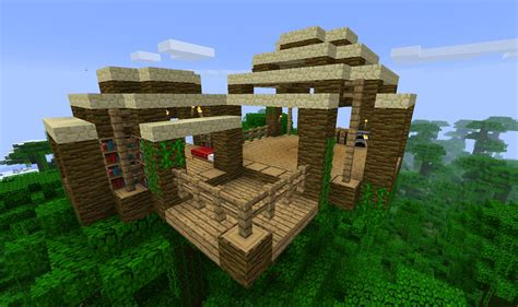 minecraft jungle house designs minecraft simple jungle treehouse google search minecraft house ideas concepts