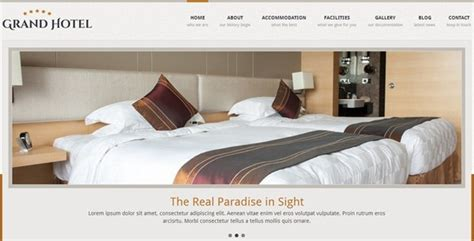 templates for hostel website 40 best hotel and travel website templates