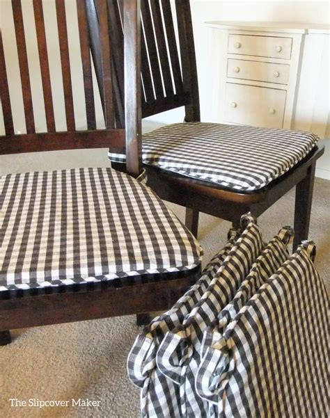 dining chair seat pad covers dining room chair slipcovers the slipcover maker