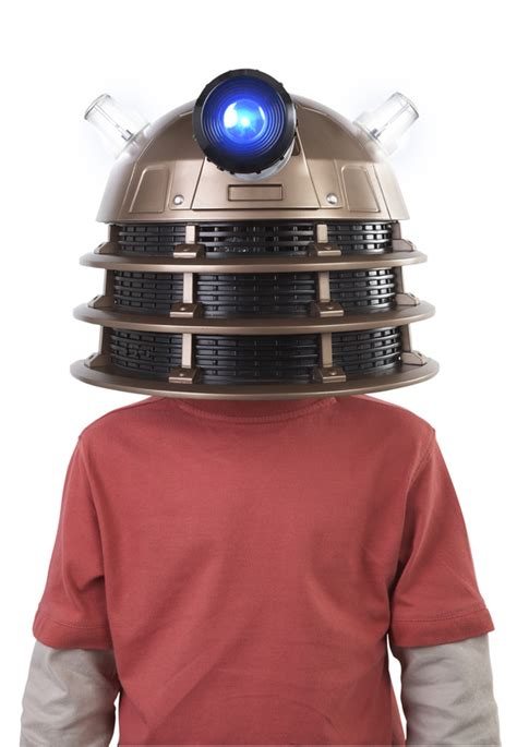 Doctor Who Dalek Sec Hybrid Voice Fx Mask For That Date by Dalek Toys