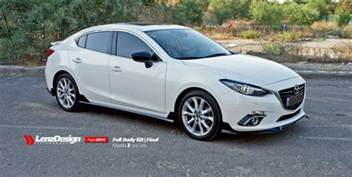 mazda 3 2013 2015 tuning lenzdesign performance