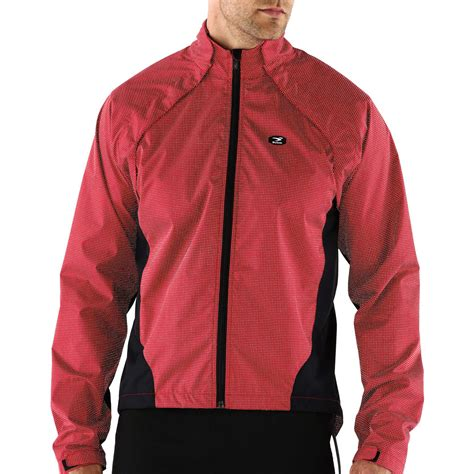 bicycle coat sugoi zap versa reflective bike jacket with magnetized
