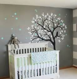 Nursery Wall Mural Decals large owl hoot star tree kids nursery decor wall decals