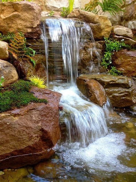backyard ponds with waterfalls 1000 ideas about pond waterfall on pinterest diy