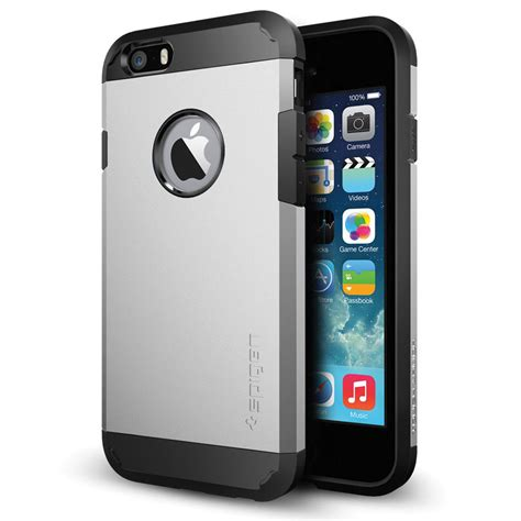 Casing Spigen Tough Armor Iphone 6 Slim Keren Logo Apple Sgp spigen tough armor for iphone 6 6s satin silver sgp10971