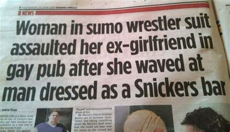 10 Silly Newspaper Headlines by 10 Strangest And Funniest News Headlines