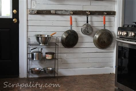 Pots And Pans Storage Pots And Pans Storage Using An Ladder In The Kitchen