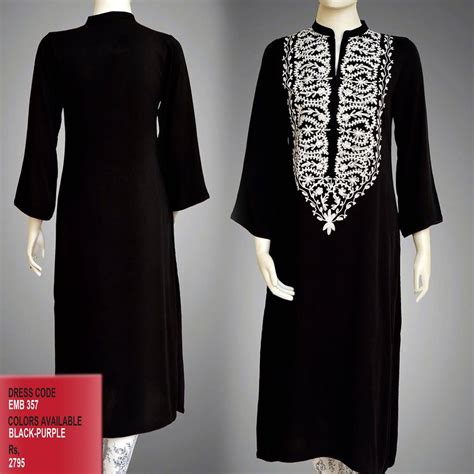kurta pattern for ladies 2015 latest stylish kurtas winter collection 2015 2016 for women