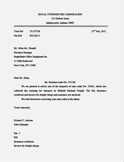 Business Letter Semi Block Exle exle of application letter semi block style 28 images