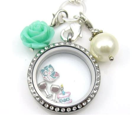 Origami Owl Floating Charms - wine glass floating charm for living lockets origami owl