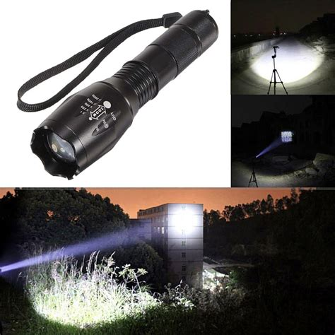 Lu Motor 6 Led Bentuk Pipih 1000 Lumens new 5000lumen led 18650 aaa flashlight zoomable torch focus flashlight l 638908401720 martlocal