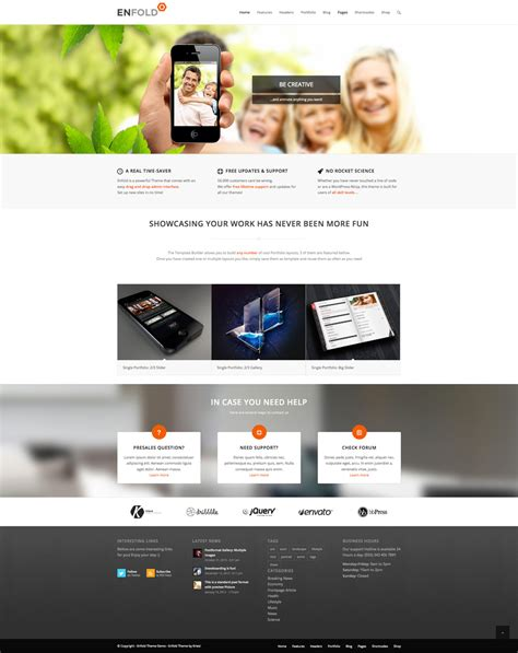 themes enfold wordpress enfold