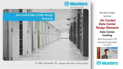 data center design youtube video lecture air cooled data center design elements by