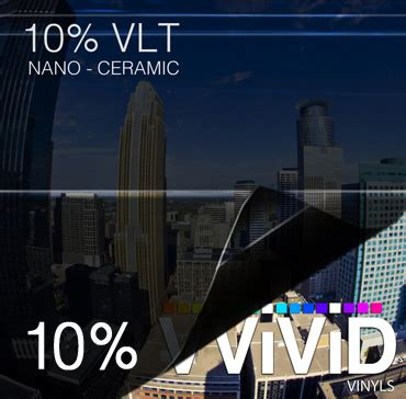 10 ceramic tint window tint 10 vlt nano ceramic 187 cws