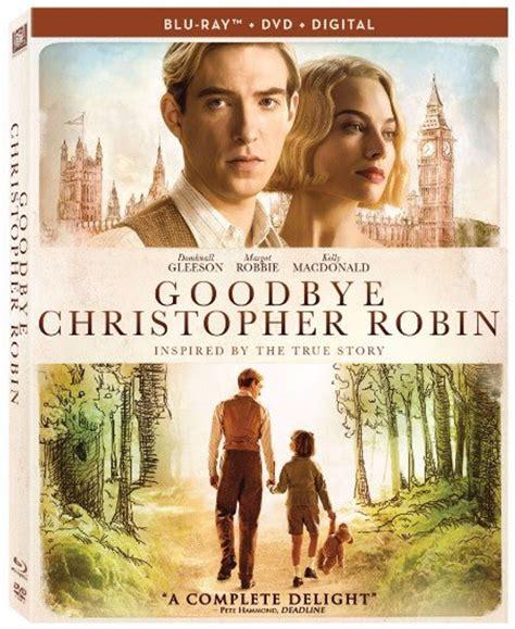 goodbye christopher robin goodbye christopher robin arrives on dvd
