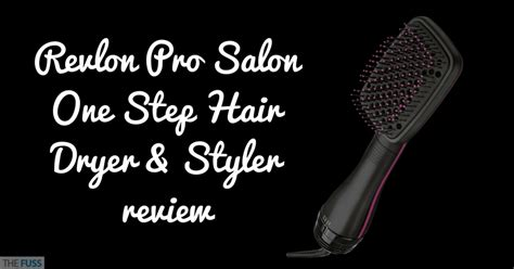 Revlon One Step Hair Dryer And Styler Reviews by Revlon Pro Salon One Step Hair Dryer Styler Review The