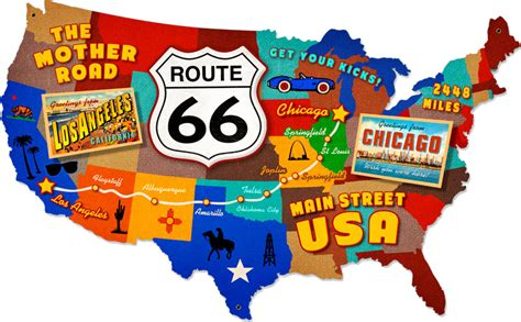 Home Decor Crosses by Historic Route 66