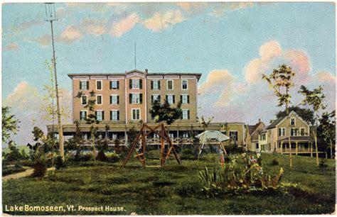 lake house bomoseen vt lake bomoseen vt west side 1910s postcard prospect house 1912 vtlb0006 lake