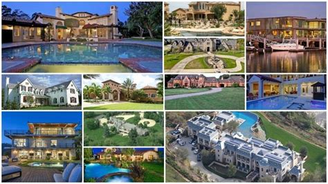 incredible houses the 15 most incredible homes owned by nfl players