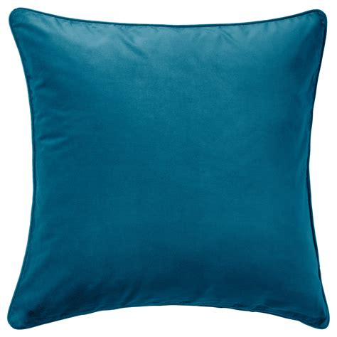 cusion covers sanela cushion cover dark turquoise 65x65 cm ikea