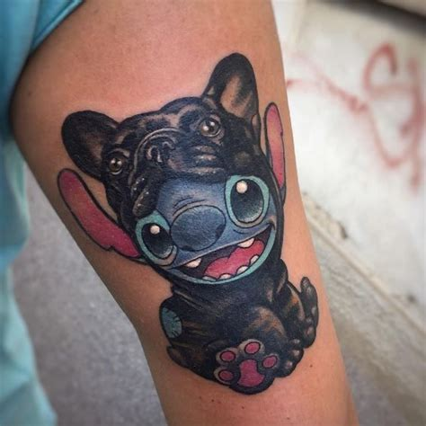 tatouage disney stitch