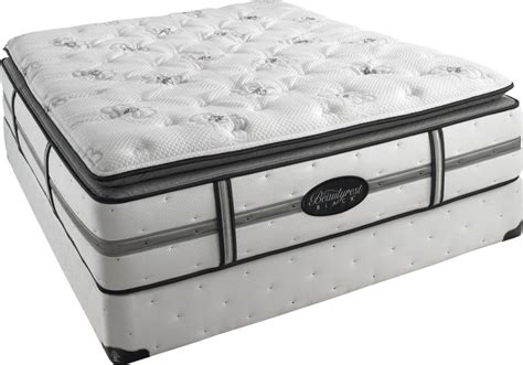 Simmons Black Label Mattress by Simmons Beautyrest Black Plush Pillow Top