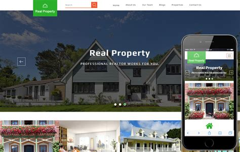 bootstrap templates for property premier realty a real estate category flat bootstrap