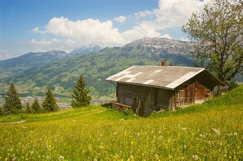 cottage in the mountains free photo cabin rustic alps cottage free image on pixabay 918914