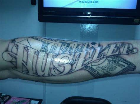 hustler tattoo flash hustler gambling arm tattoo