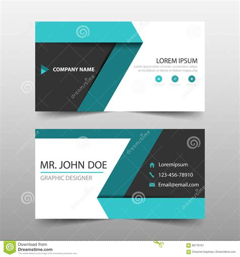 name card design template free simple name card template beautiful template design ideas