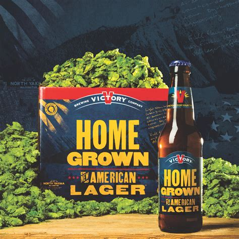 home grown victory brewing releases home grown new american lager