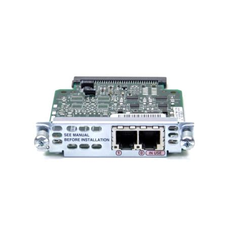Cisco Vic 2fxo Two Port Fxo Vic Cisco 2 Port Fxo Voice Interface Card Vic2 2fxo Solature