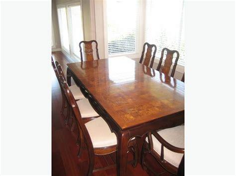 oriental dining room suiteset  piece  chairs exc