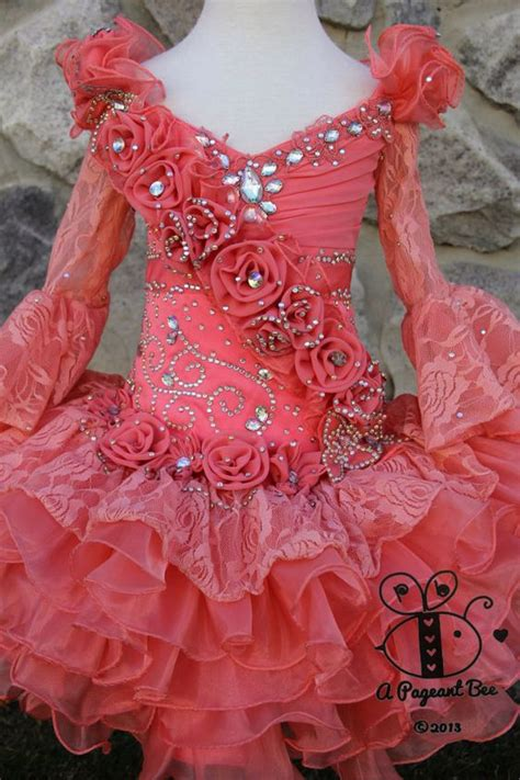 little girl beauty pageant dresses beautiful pageant glitz cupcake pageant dress by