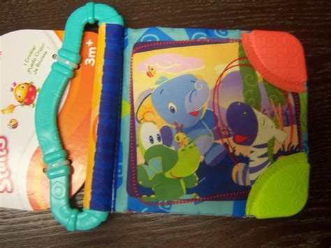 bright starts teethe read baby shower book safari