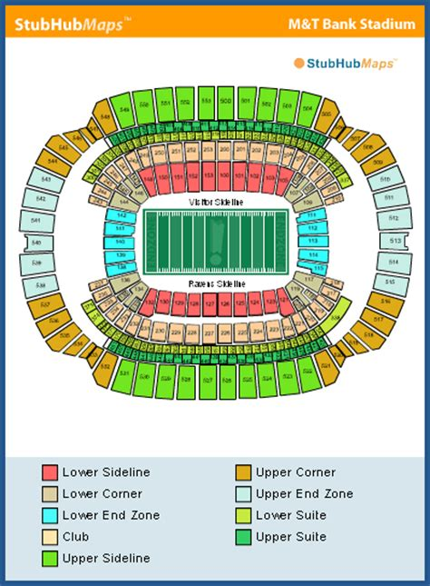 mt bank stadium seating m t bank stadium seating chart pictures directions and