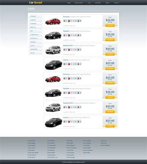 Free Car Rental Website Template Car Rental Template Phpjabbers Car Rental Website Template