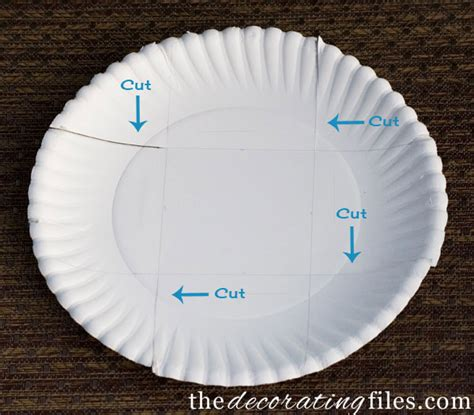 How To Make Paper Plates - diy crafts containers from paper plates