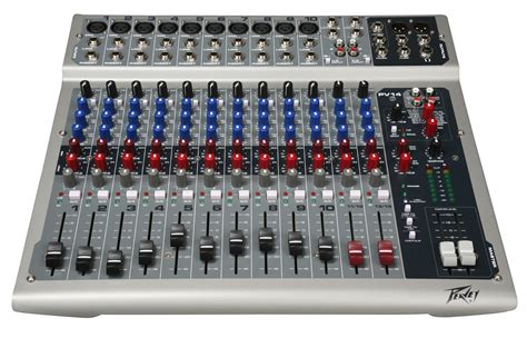 Prefesional Mixing Console 4 Channel Soundbest Js 4d peavey pv 14 compact console mixer with precision 60mm faders on input channels pev13 512140