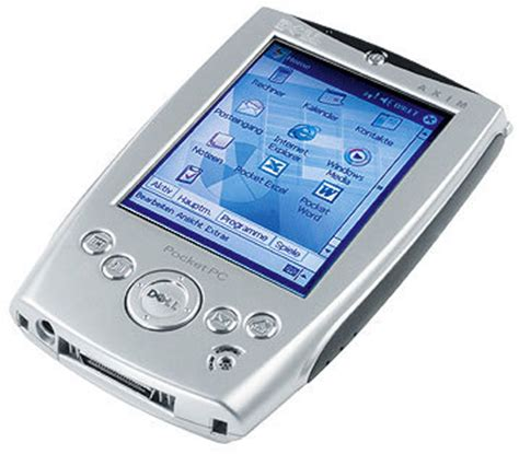 Pda Pocket dell axim x5 getting organized with pdas