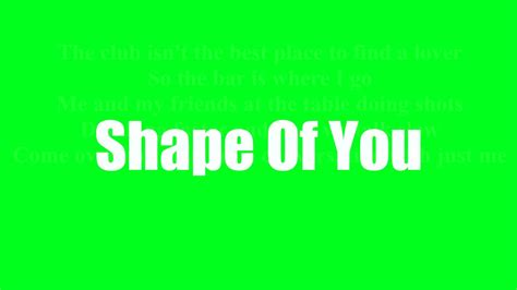 download mp3 ed sheeran shape of you chord lirik shape of you ed sheeran mp4 mp3 1 56 mb
