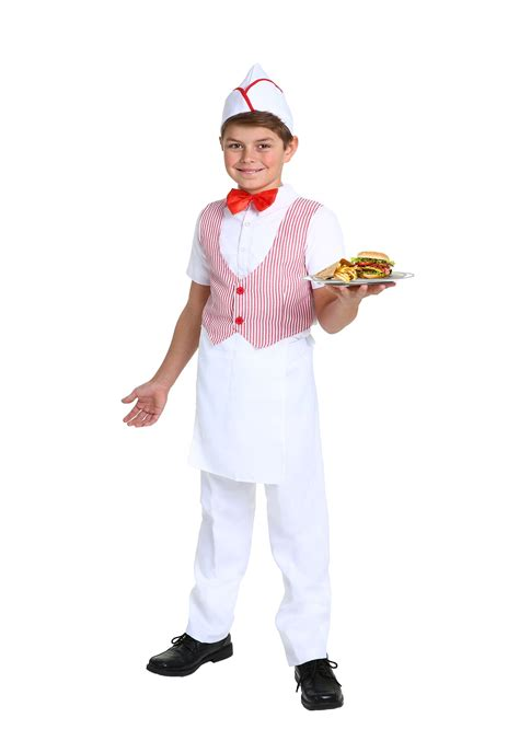 50s car hop costume for boys