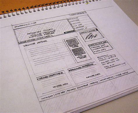 sketchbook website design 25 exles of wireframes and mockups sketches